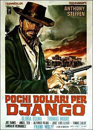 Постер фильма «Джанго» 1966 года. Изображение № 1.