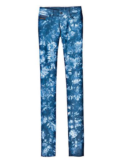 Деним, корсеты, морские принты ипляжная одежда SS2009. Изображение № 4.