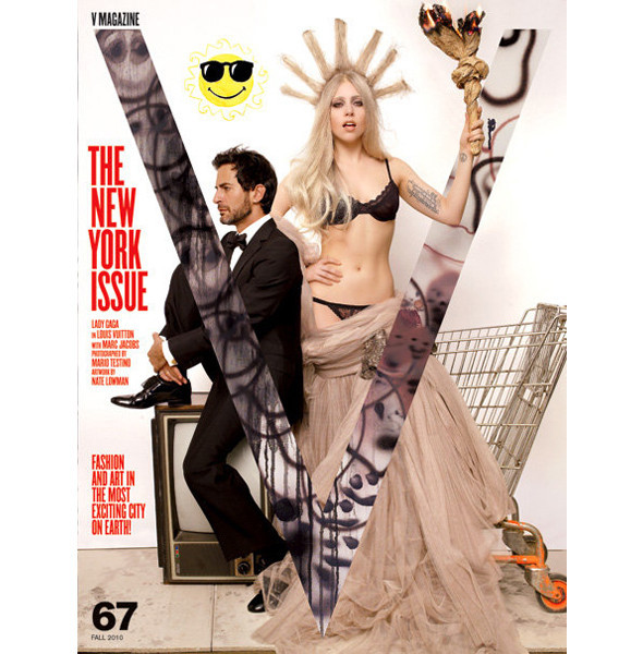 Леди Гага и Марк Джейкобс появятся на обложках V. Изображение № 2.