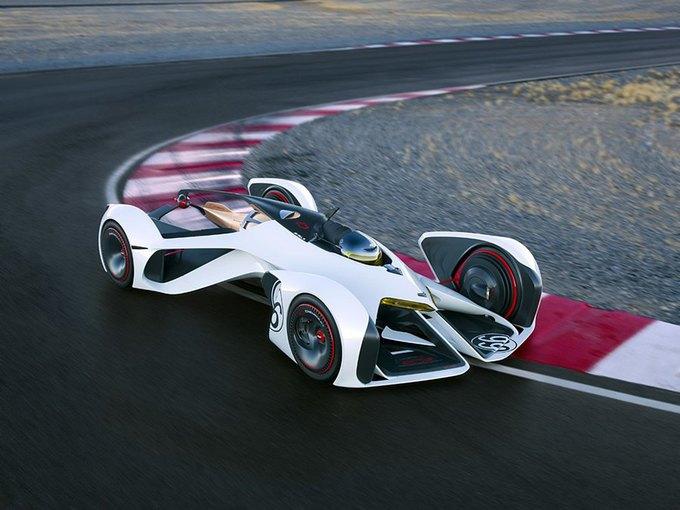 Chevrolet создала суперкар для Gran Turismo. Изображение № 13.