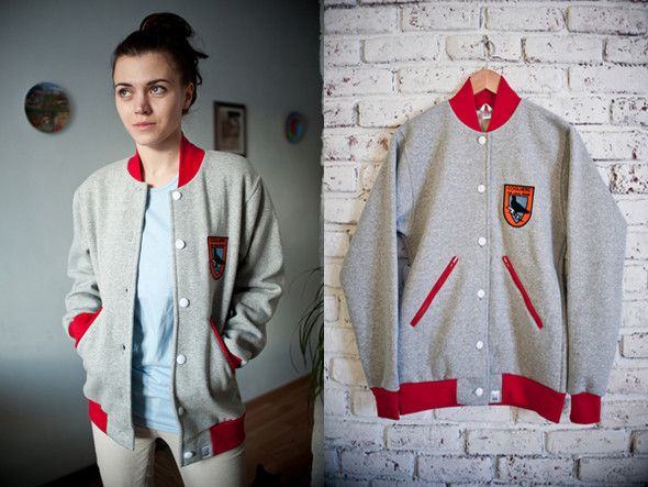 Украинская марка COOLHERE выпустила университетские куртки. Изображение № 2.