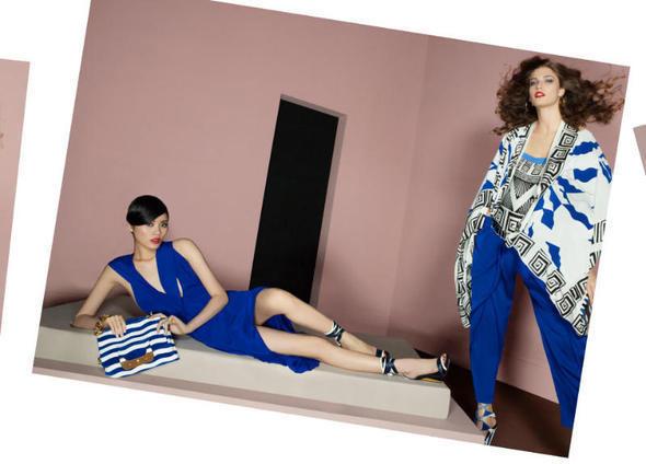 Изображение 22. Рекламные кампании: Diane von Furstenberg, Karl Lagerfeld, McQ и другие.. Изображение № 9.