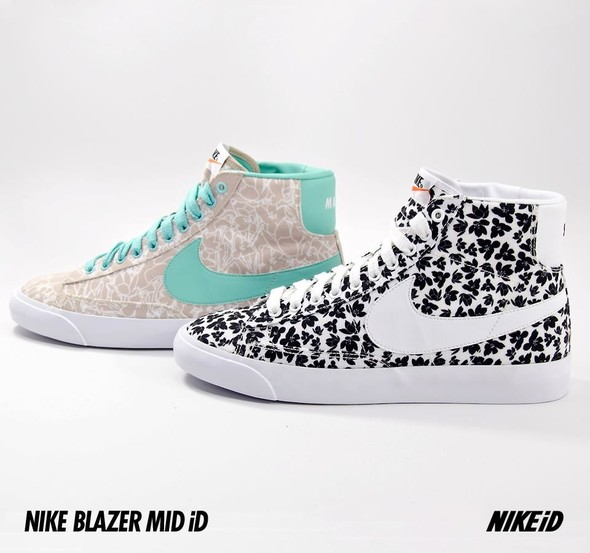 Nike X Liberty Summer Collection/  Blazer Mid iD.. Изображение № 31.