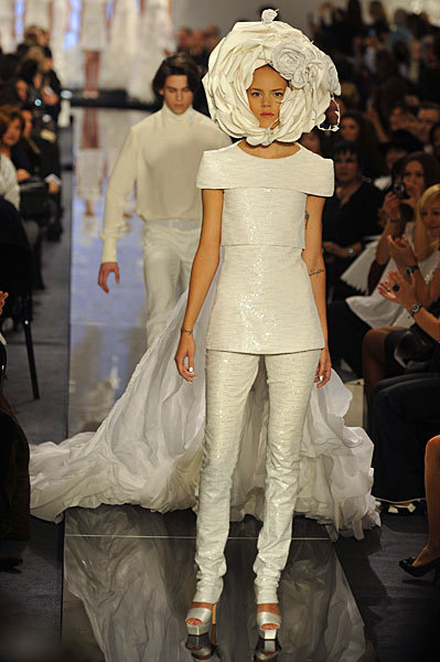 Chanel Spring 2009 Haute Couture. Изображение № 45.