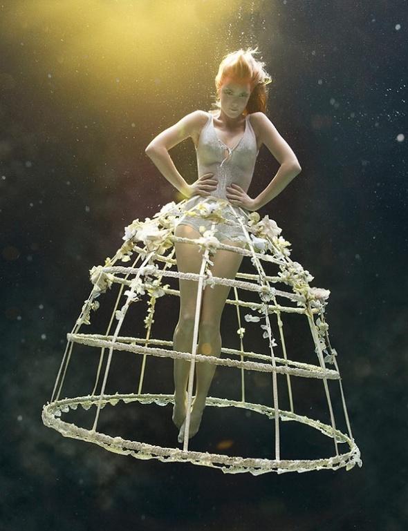 Подводная «художница» – Зена Холлоуэй. Изображение № 1.