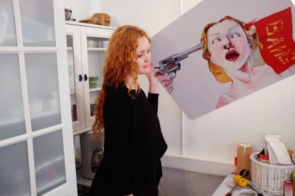 Рабочее место: Наташа Климчук, сооснователь студии Bang! Bang!. Изображение № 35.