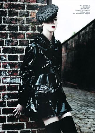Съёмка в китайском Vogue, август 2011. Изображение № 72.