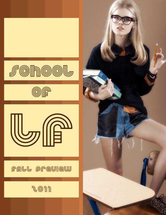 Превью лукбука: LF Stores Fall 2011. Изображение № 10.