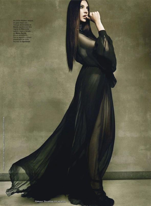 Съёмка: Жаклин Яблонски для Harper's Bazaar. Изображение № 11.
