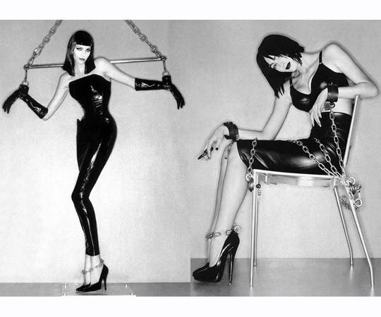 Съёмка Жана-Батиста Мондино для британского Elle 1995 года. Изображение № 10.