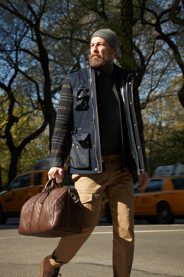Новые мужские лукбуки Louis Vuitton, Marc Jacobs и Fred Perry. Изображение № 47.