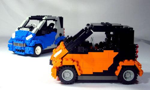 48 креативных LEGO творений. Изображение № 36.