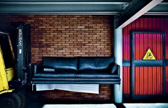 Изящный диван от Zanotta. Изображение № 1.