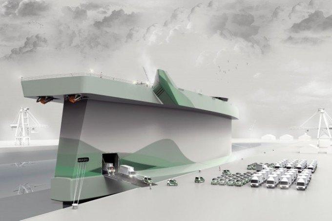 Разработана концепция корабля-паруса. Изображение № 2.