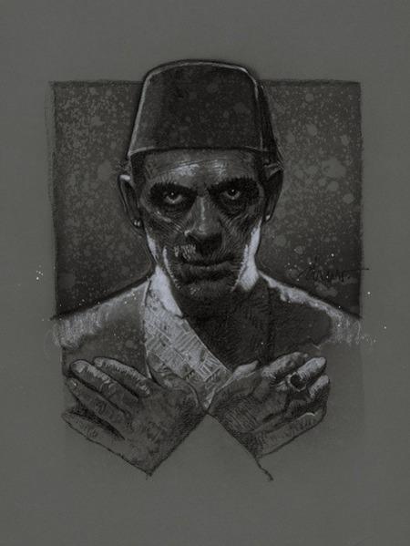 Дрю Стрюзан — Мумия. Изображение № 5.