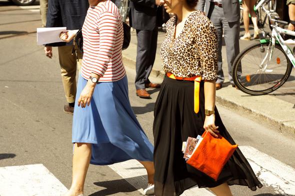 Изображение 5. Девушки на Milan Fashion Week: день 3 и 4.. Изображение № 5.