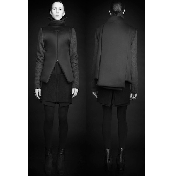 Изображение 27. Лукбуки: Bergdorf Goodman, Jaeger Black и Rad Hourani.. Изображение № 27.