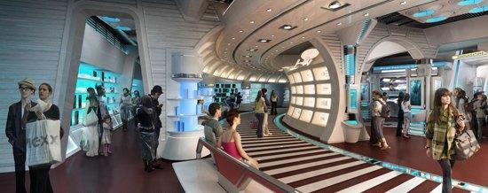 Опубликованы концепты парка развлечений по «Звёздному пути». Изображение № 8.