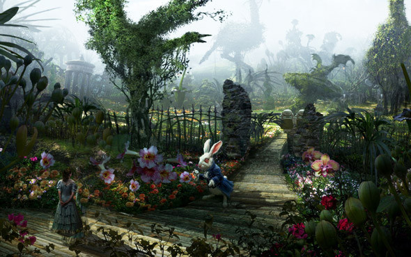 Чудеса флоры и фауны. «Алиса в Стране Чудес», 2010. Изображение №49.