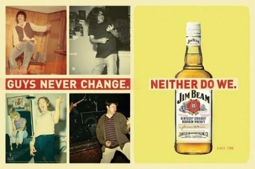 Jim Beam: Парни никогда не меняются. Изображение № 2.