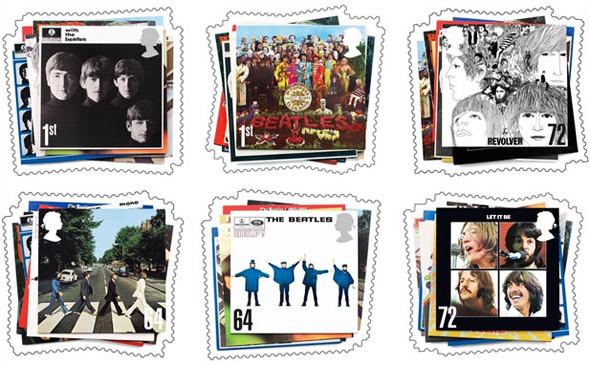 Музыкальные марки Королевской почты. Изображение № 2.