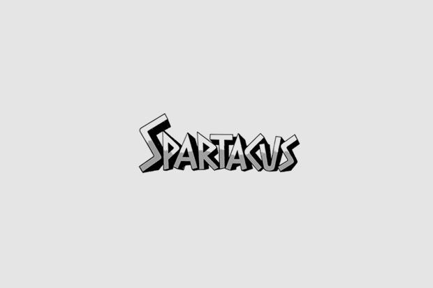 Шрифт с постера для фильма «Спартак». На нём использованы Alternate Gothic, Trade Gothic, рукописный. Изображение № 25.