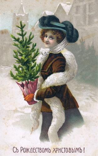 Новогодняя ирождественская открытка. Изображение № 18.