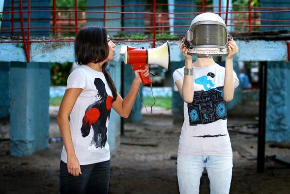 SHUTTLE – Интернет-магазин космических футболок. Изображение № 1.