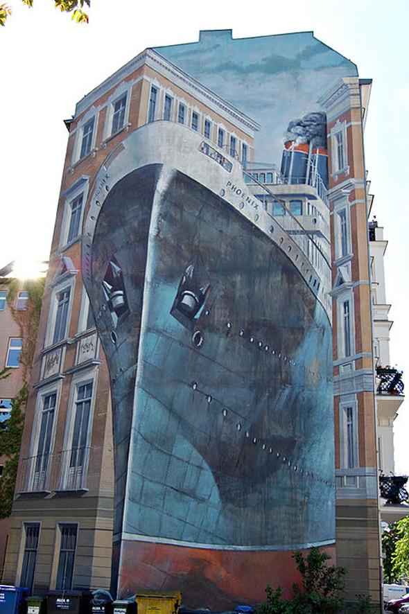 Большая коллекция уличного искусства. Изображение № 44.