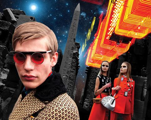 Новый лукбук Prada Real Fantasies посвящен космосу. Изображение № 23.