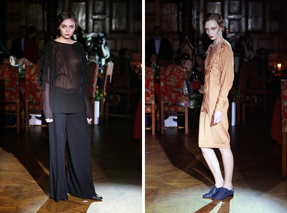 Изображение 3. Vardoui Nazarian FW 2011: прозрачные юбки и пушистые майки.. Изображение № 3.