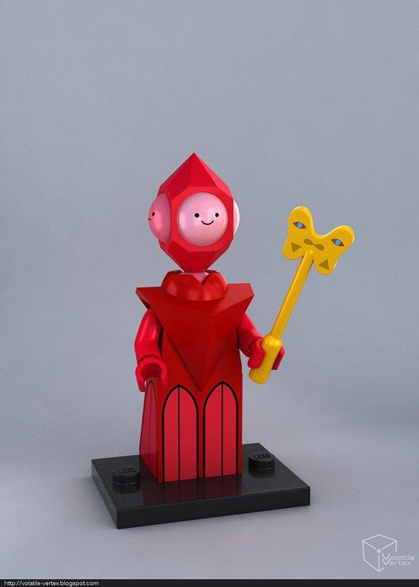 Концепт: персонажи Adventure Time в LEGO. Изображение № 16.