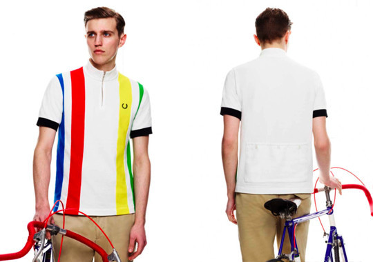 Fred Perry X Cycling Blank Canvas. Изображение № 5.