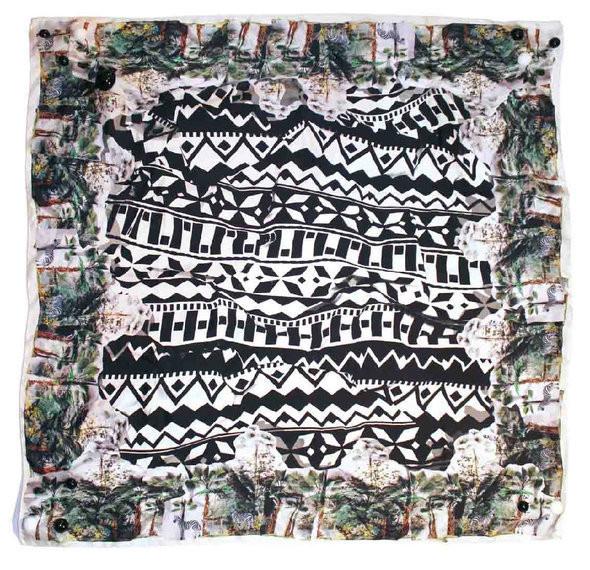 Изображение 3. Лукбук: первая коллекция платков B. Heart.. Изображение № 8.