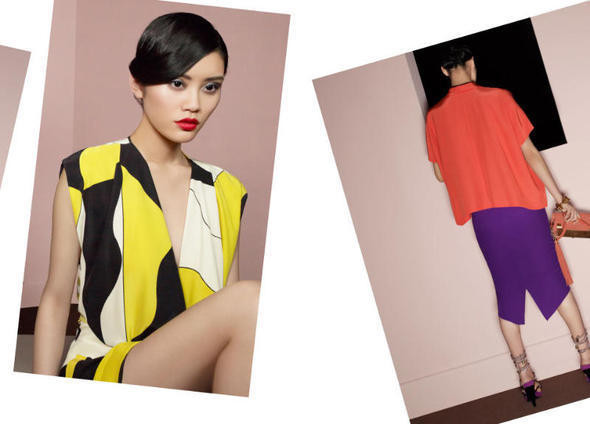 Изображение 15. Рекламные кампании: Diane von Furstenberg, Karl Lagerfeld, McQ и другие.. Изображение № 2.
