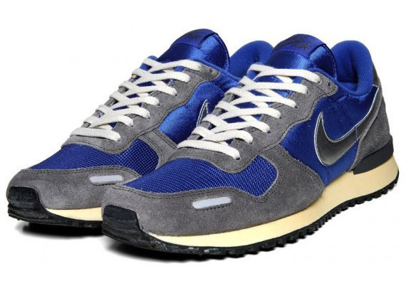 Nike Air Vortex VNTG – Varsity Royal – Metallic Silver. Изображение № 2.