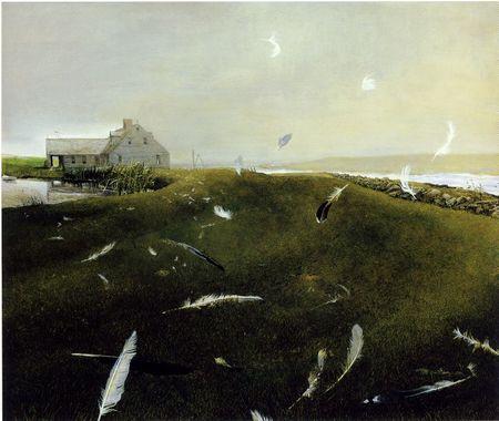 Andrew Wyeth- живопись длясозерцания иразмышления. Изображение № 40.