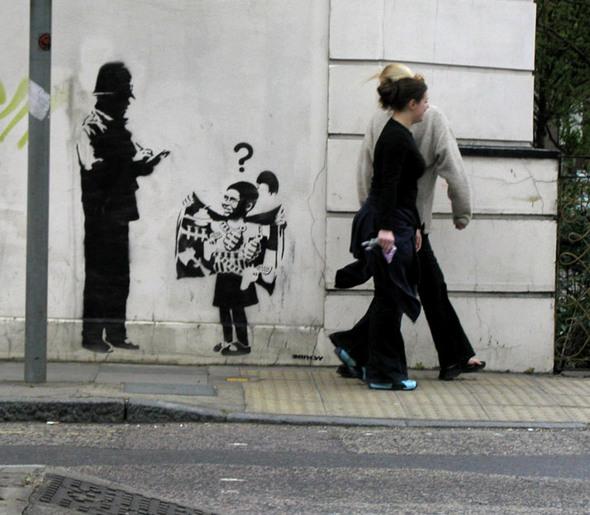 Изображение 12. Banksy (уличная мышь – герой).. Изображение № 12.