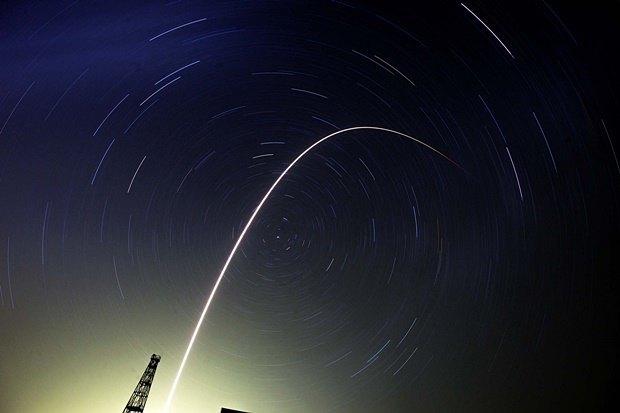 Взлёт ракеты «Союз-ФГ» с кораблём «Союз ТМА-13М» с космодрома Байконур. Изображение № 7.