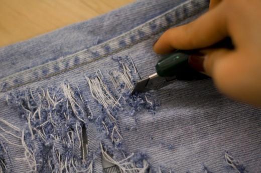 Каксобственноручно порвать джинсы. Изображение № 5.
