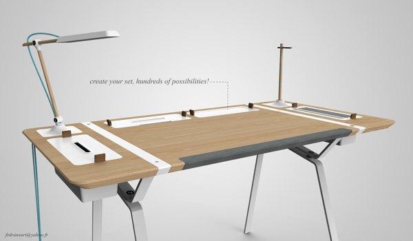 Концепт недели: стол, который всегда в порядке. Изображение № 7.