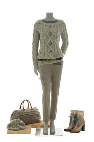 Brunello Cucinelli: лукбук осень-зима 2011/2012. Изображение № 34.
