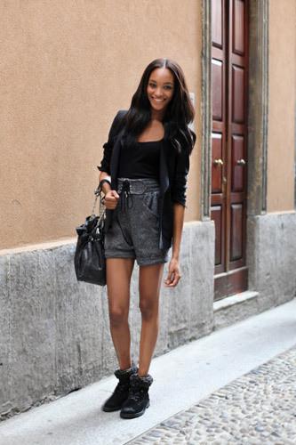 Нерабочее время: Блоги об уличном стиле моделей. Изображение № 16.