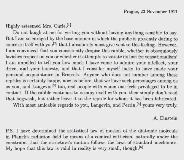 Альберт Эйнштейн о том, как бороться с хейтерами. Изображение № 2.