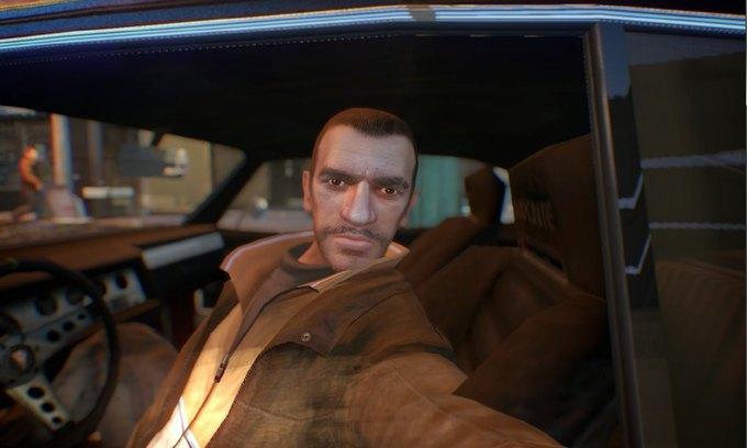 Мод позволяет делать селфи в GTA IV . Изображение № 5.