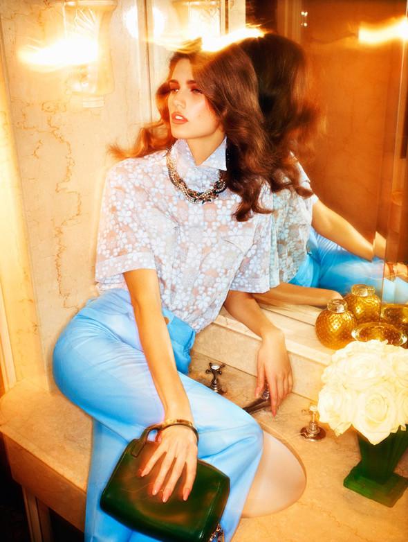 Съёмка: Кендра Спирс для российского Vogue. Изображение № 8.