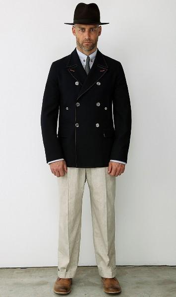 Мужская коллекция Alexander McQueen весна-лето 2010. Изображение № 9.