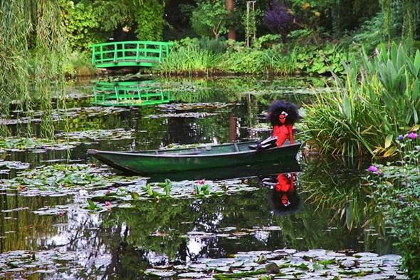 Съемка в стиле киберпанк: Незваный гость в райском саду. Изображение № 7.