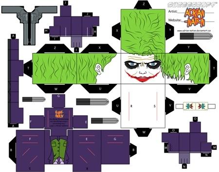 Cubeecraft бумажные герои
