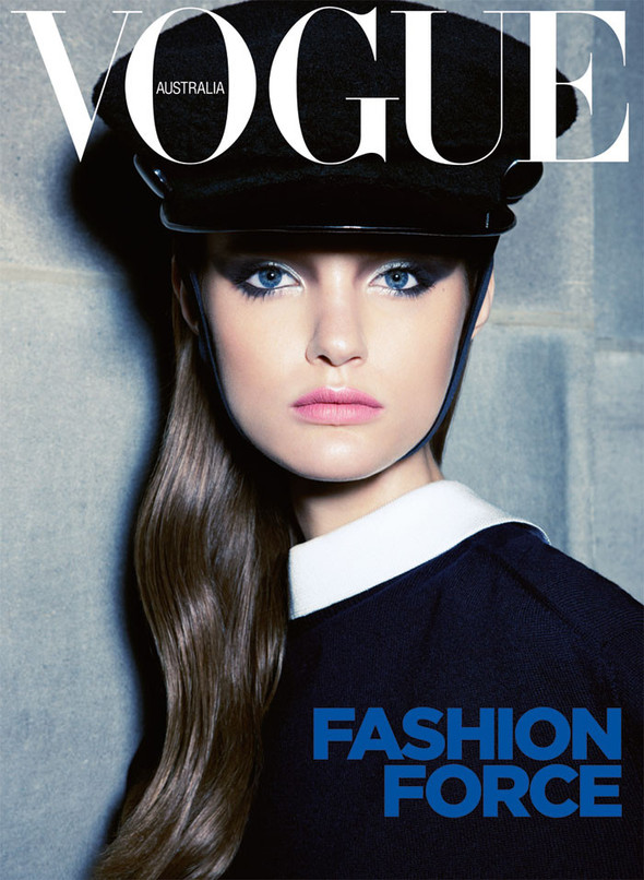 Обложки Vogue: Австралия, Британия, Италия и Турция. Изображение № 1.